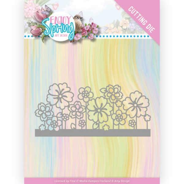 Flower Border - Enjoy Spring Collection von Amy Design (ADD10240)