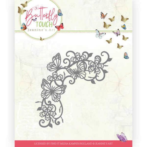 Swirls and Butterflies - Butterfly Touch Collection von Jeanines Art (JAD10124)