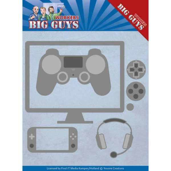 It´s Game Time - Big Guy - Workers Collection von Yvonne Creations (YCD10205)