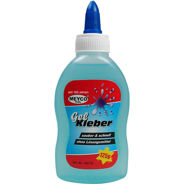 Gelkleber - 125 g von Meyco (65734)