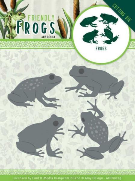Frog / Frösche - Friendly Frogs Collection von Amy Design (ADD10229)