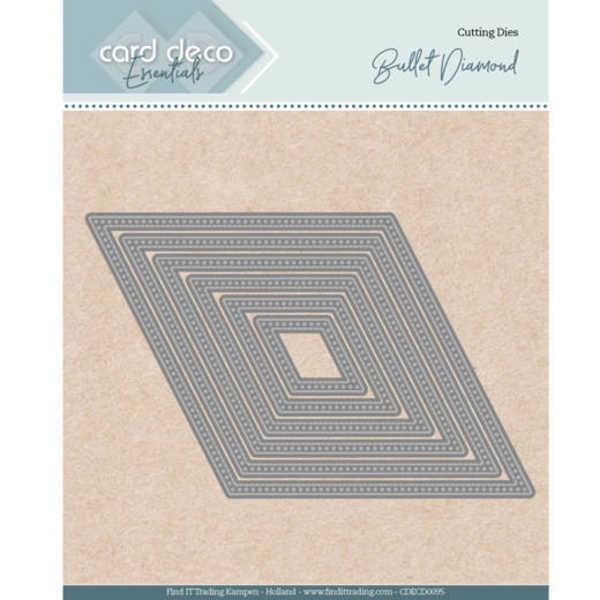 Bullet Diamond - Nesting Dies von Card Deco (CDECD0095)