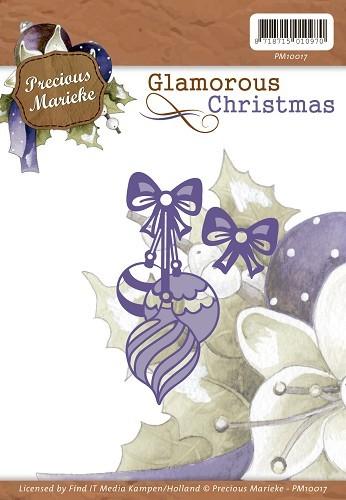 Christmas baubles / Weihnachtskugeln - Stanz- Prägeschablone