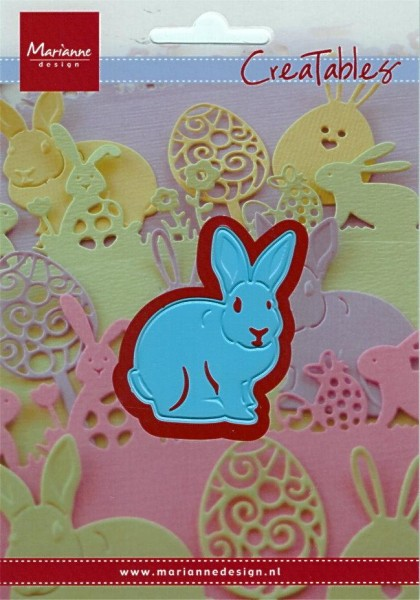 Bunny / Hase - Stanzschablone