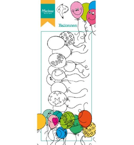Balloons - Stempel / Clearstamp - Hetty´s Border