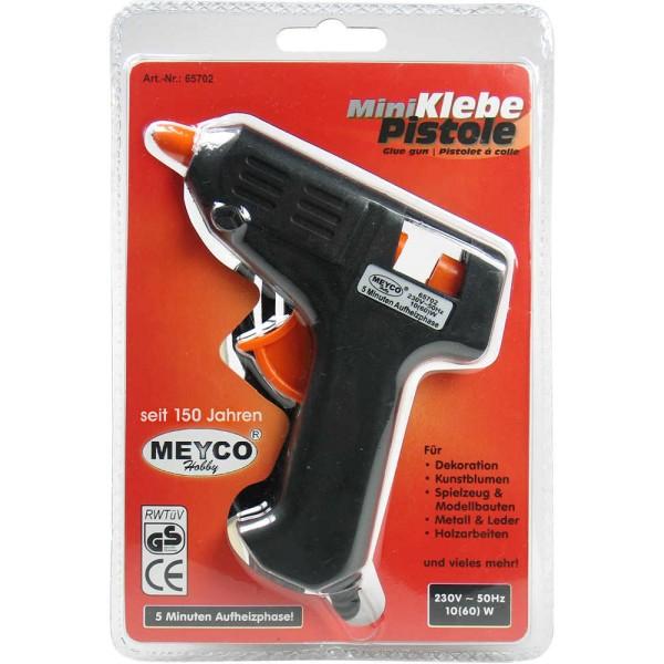 Heißklebepistole - Mini 10 - 60 Watt von Meyco (65702)
