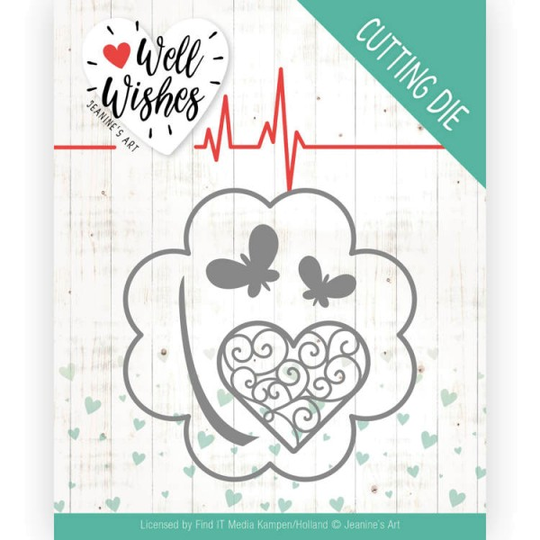 Lucky Clover - Well Wishes - Stanzschablone