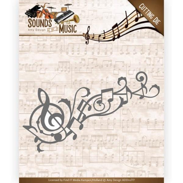 Music Swirl - Stanzschablone