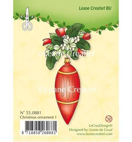 Clear Stamp - Weihnachtliches Motiv 1 von Leane Creative