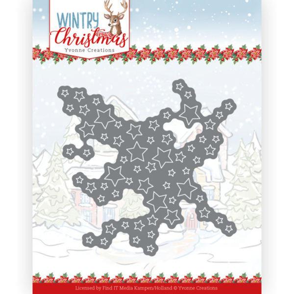 Cut out Stars - Wintery Christmas Kollektion von Yvonne Creations (YCD10243)