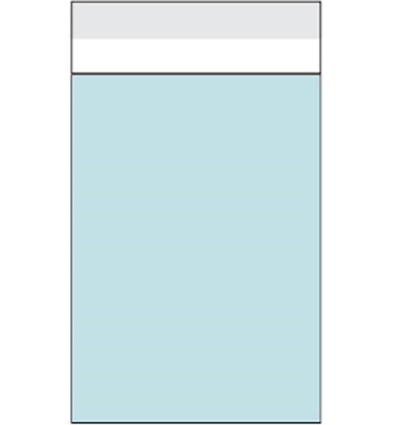 Folienbeutel mit Selbstklebeverschluss - 120 x 167 mm