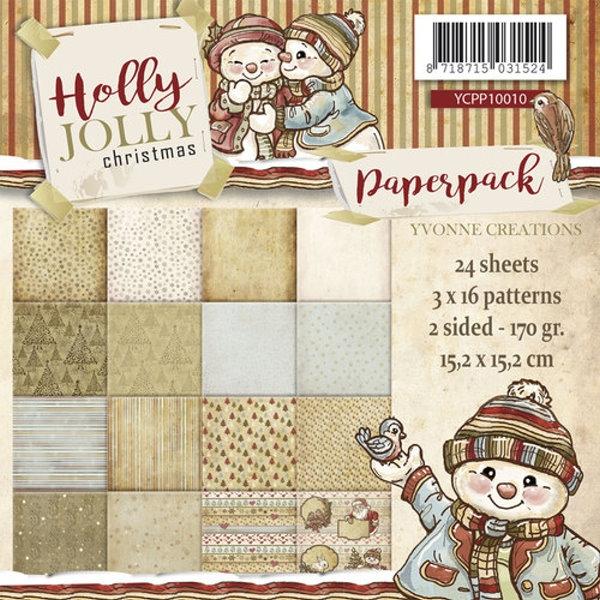 Holly Jolly - Design Motivpapier