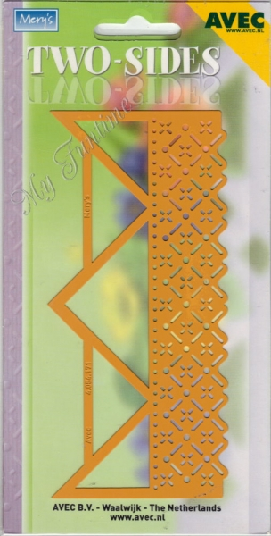 Two-Sides - Prägeschablone / Embossing-Folder