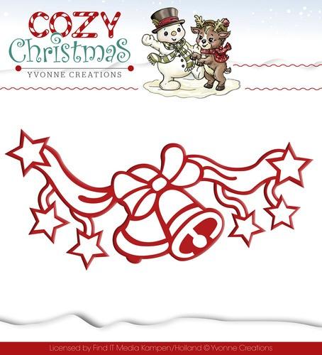 Jingle Bells / Weihnachtsglocken Stanzschablone von Yvonne Creations