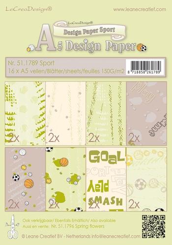 Design Motivpapier - Sport