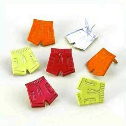 Brads (Flügelklammern) - short pants / kurze Hosen