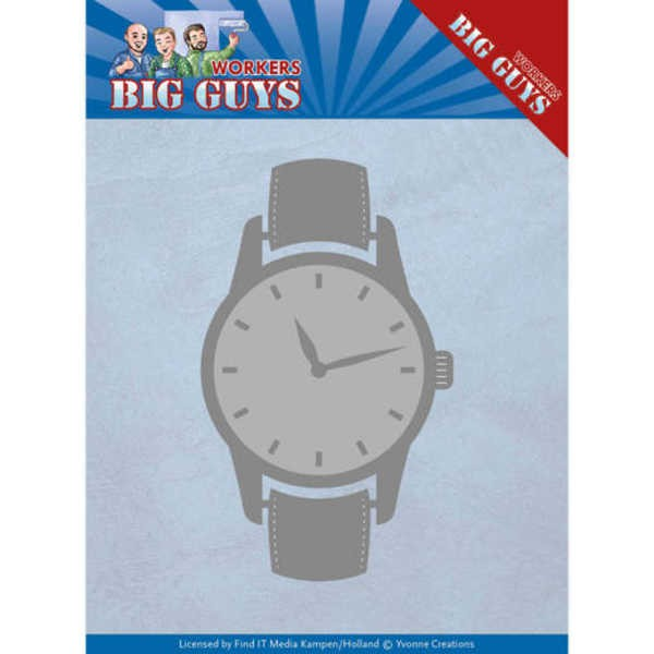 Watch / Uhr - Workers Collection von Yvonne Creations (YCD10206)