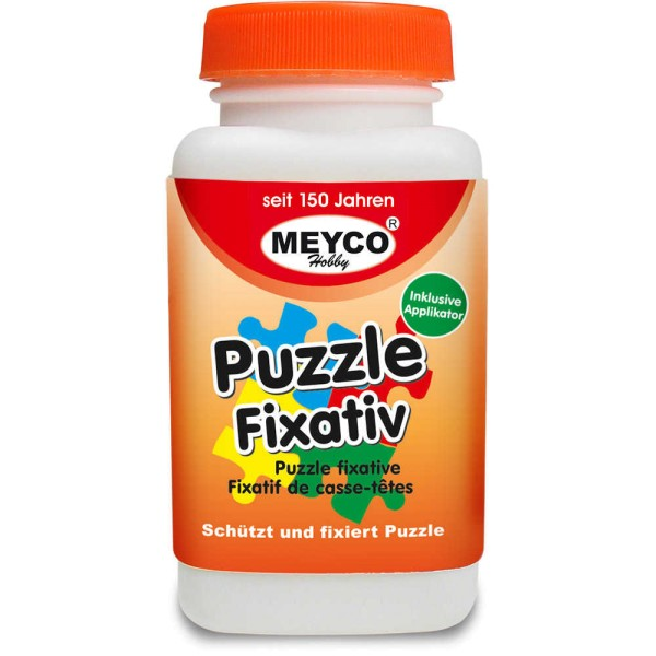Puzzle-Fixativ / Puzzle-Klebelack 120 ml von Meyco (65753)