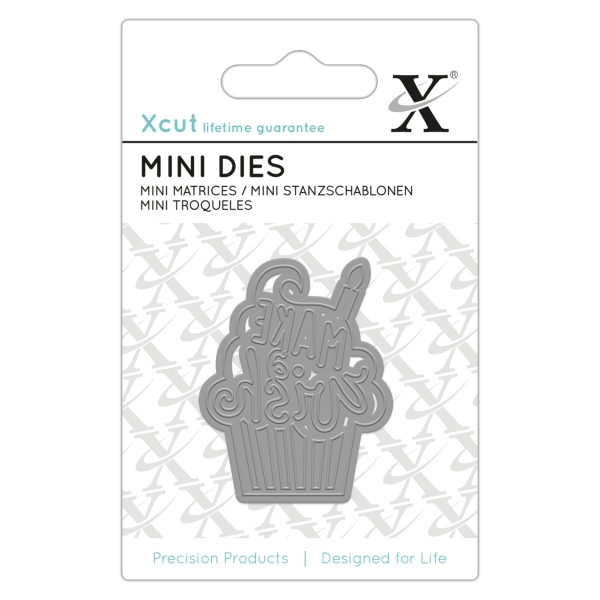 Make a Wish - Stanzschablone - Mini Dies von XCUT